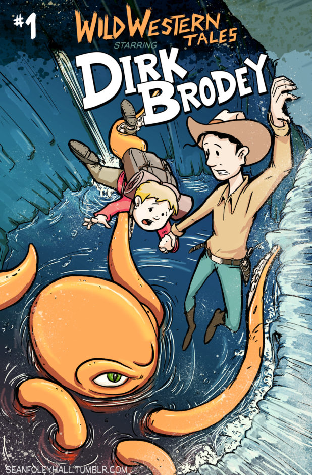 Dirk Brodey Issue 1 Cover